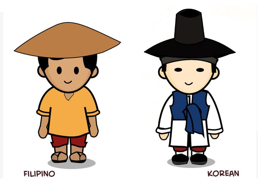 korean filipino culture differences intro A