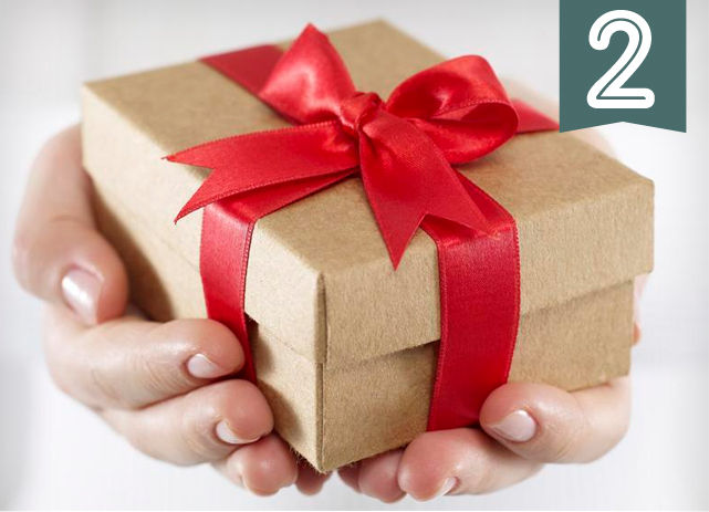 2v-During Christmas when they send your girlfriend a gift they have a present for you too