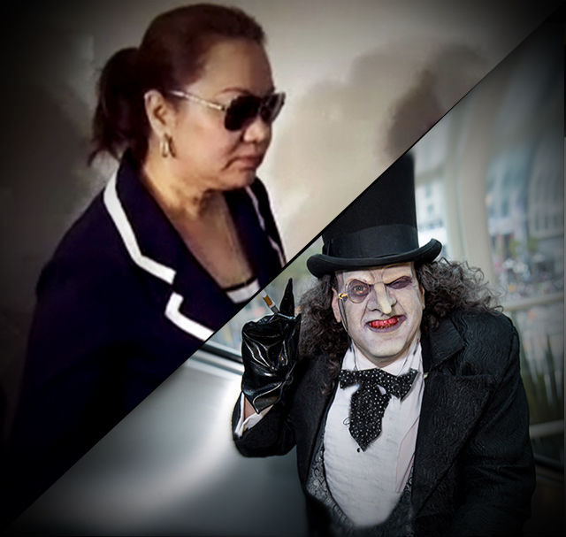 Janet Lim-Napoles as The Penguin-1v