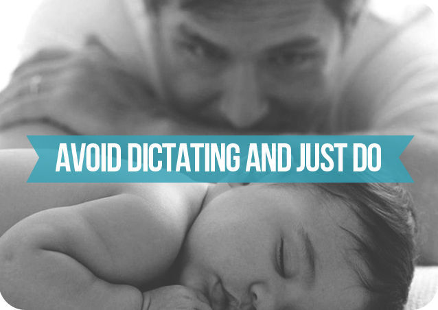 Ways for Dads to Get Involved in Newborn Care-1v