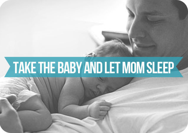 Ways for Dads to Get Involved in Newborn Care-5v