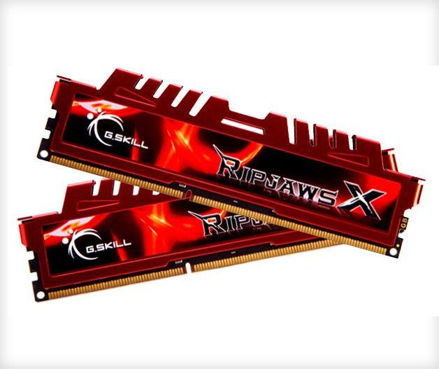 RAM - Gskill Ripjaws X 8gb 4gbx2 DDR3 1866 CL9  - P3,495-5V