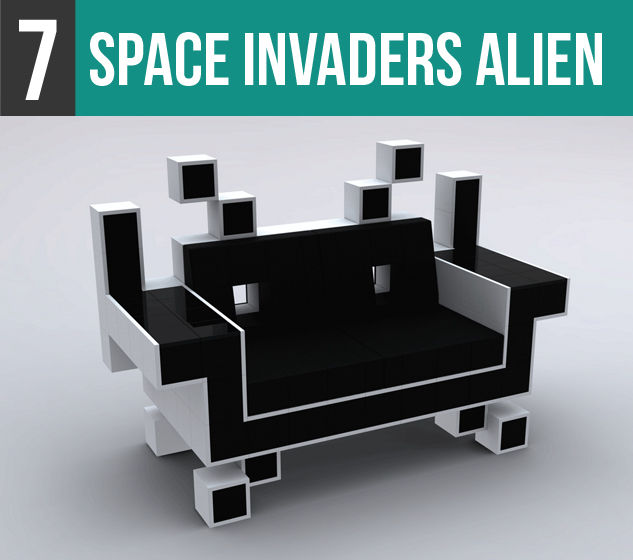 Space Invaders Alien-7V