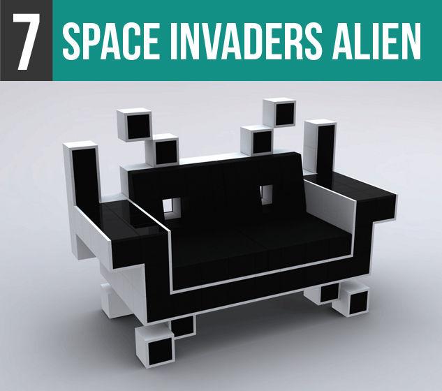Space Invaders Alien-7V