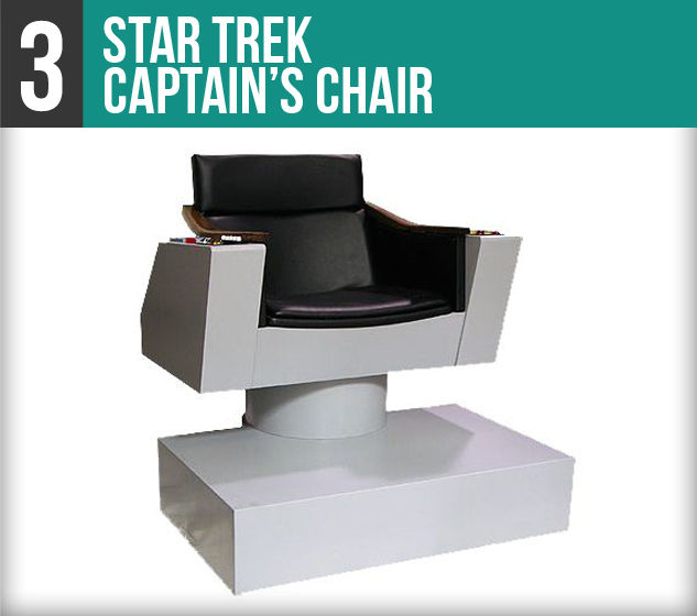Star Trek Captain's Chair-3V