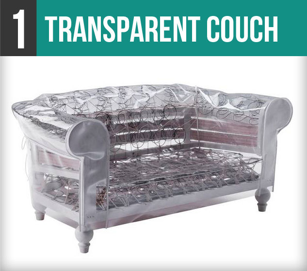Transparent Couch-1V
