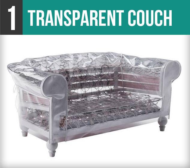 Transparent Couch-1V