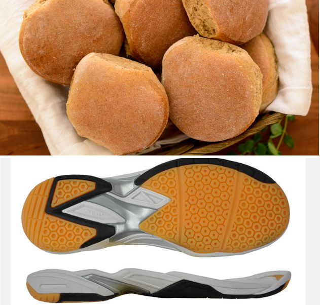 Bread buns contain azordicarbonamide the same chemical used to make the soles of your rubber shoesn 2V
