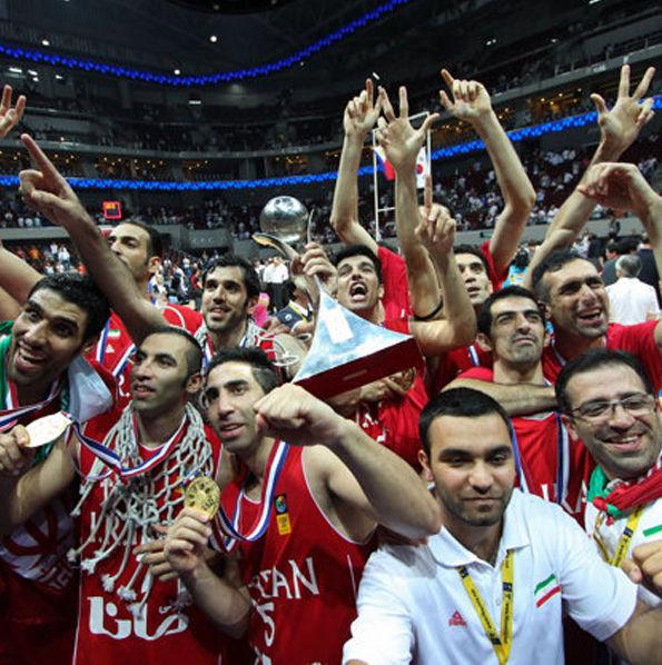 The Iranian FIBA Team 4V