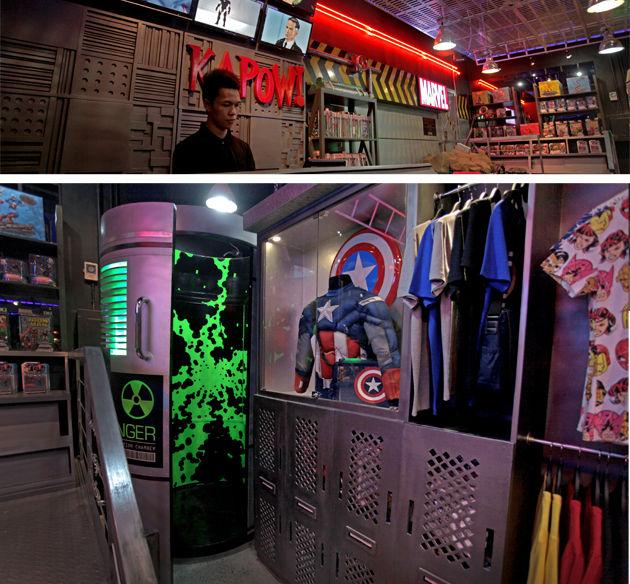 Their store looks like a SHIELD Facility 6V