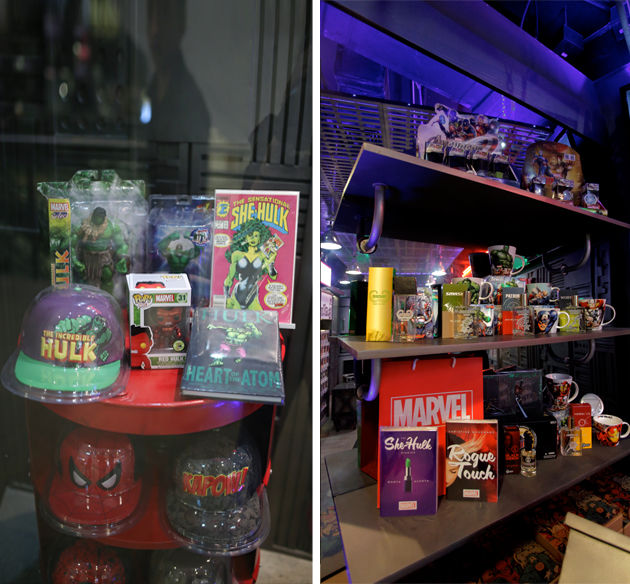 They dont just sell Marvel comics They sell a lifestyle 3V