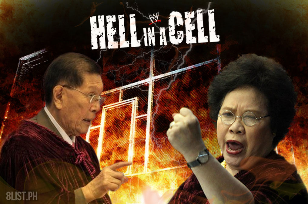 Miriam-vs-Enrile-Steel-Cage-Hell-in-a-Cell