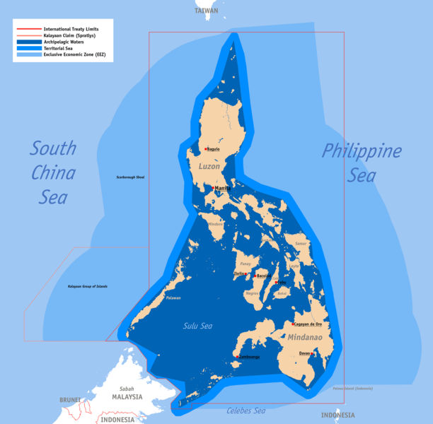 Philippine Map Scarborough Shoal