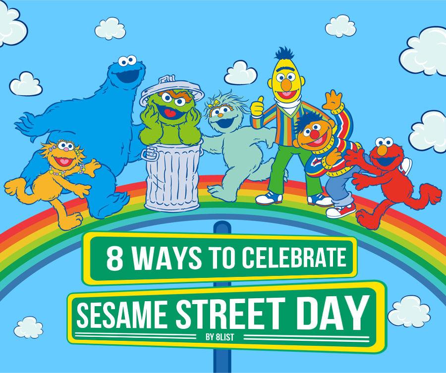 Ways to Celebrate Sesame Street Day