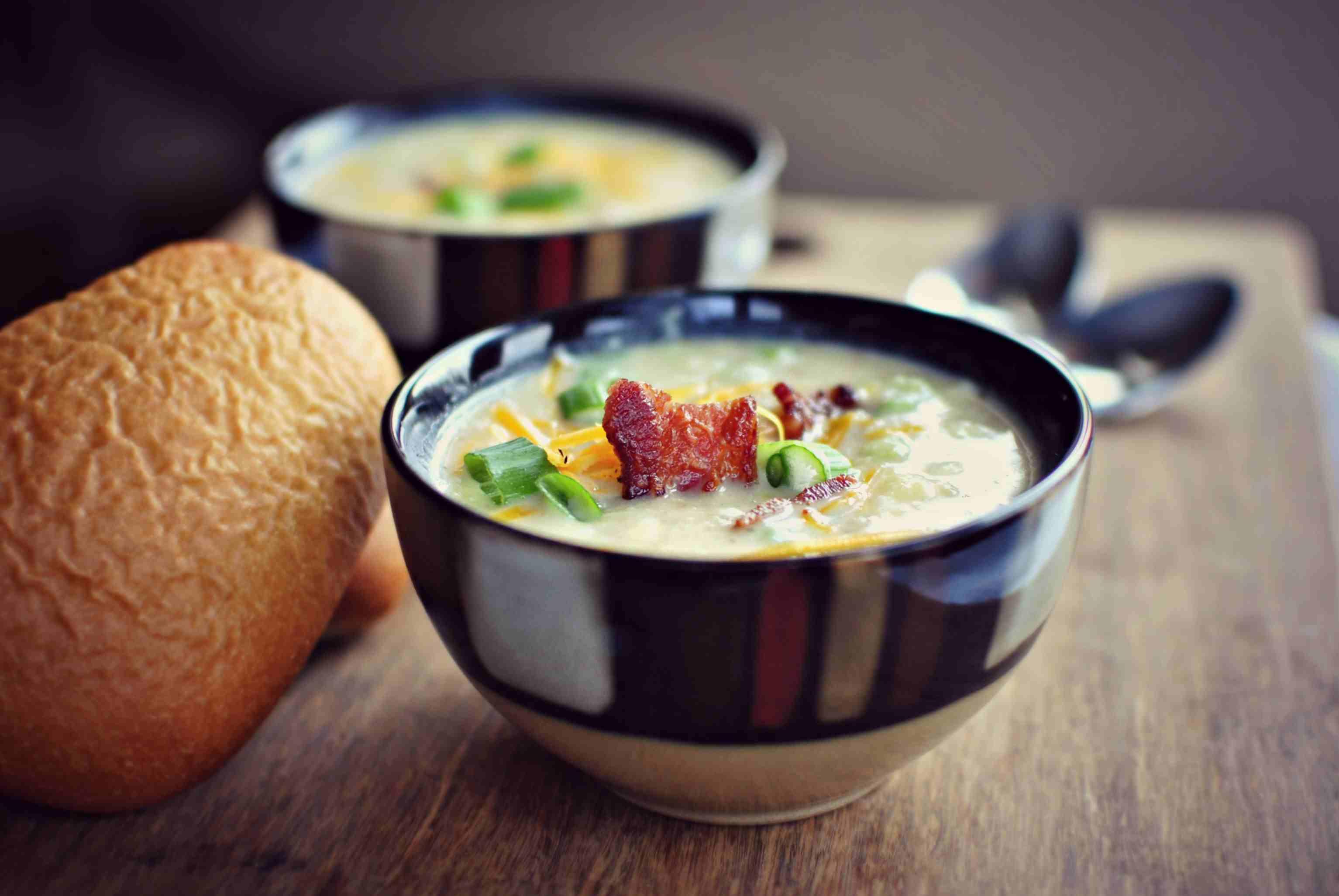 4 potato soup