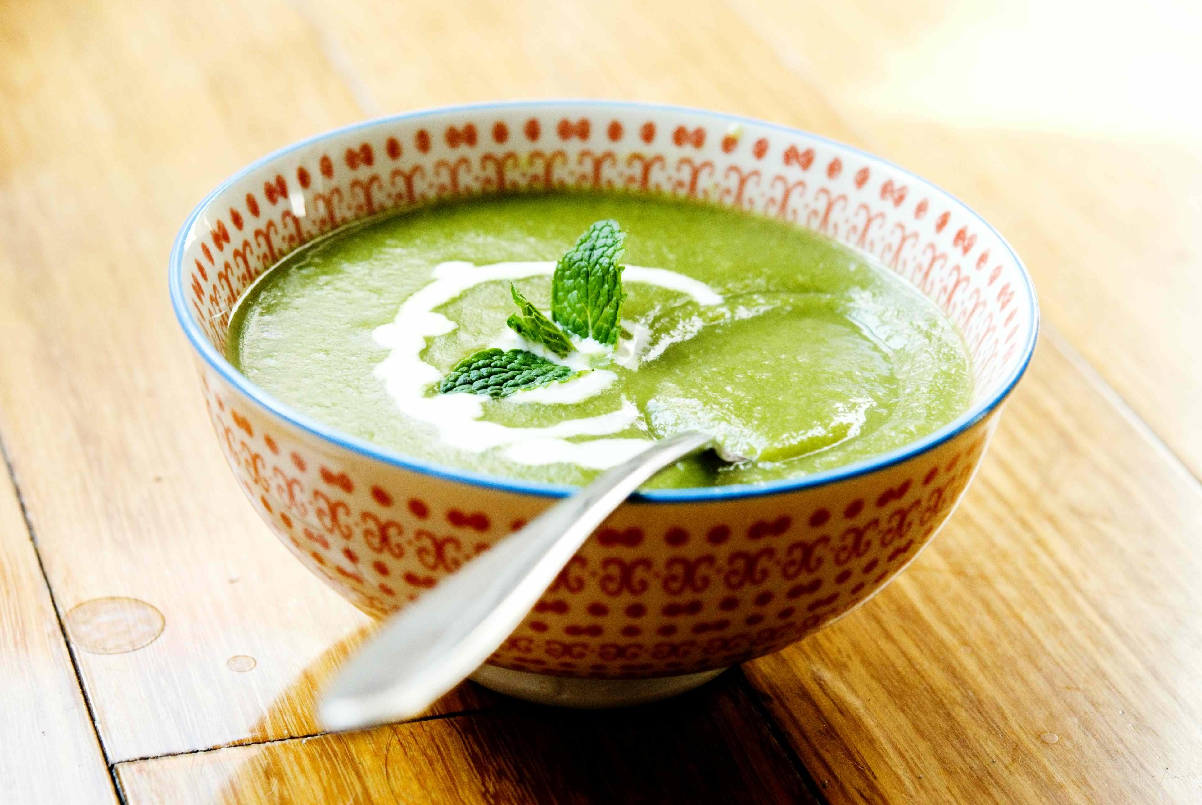 5 lettuce soup